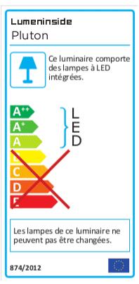 étiquette énergie PLUTON