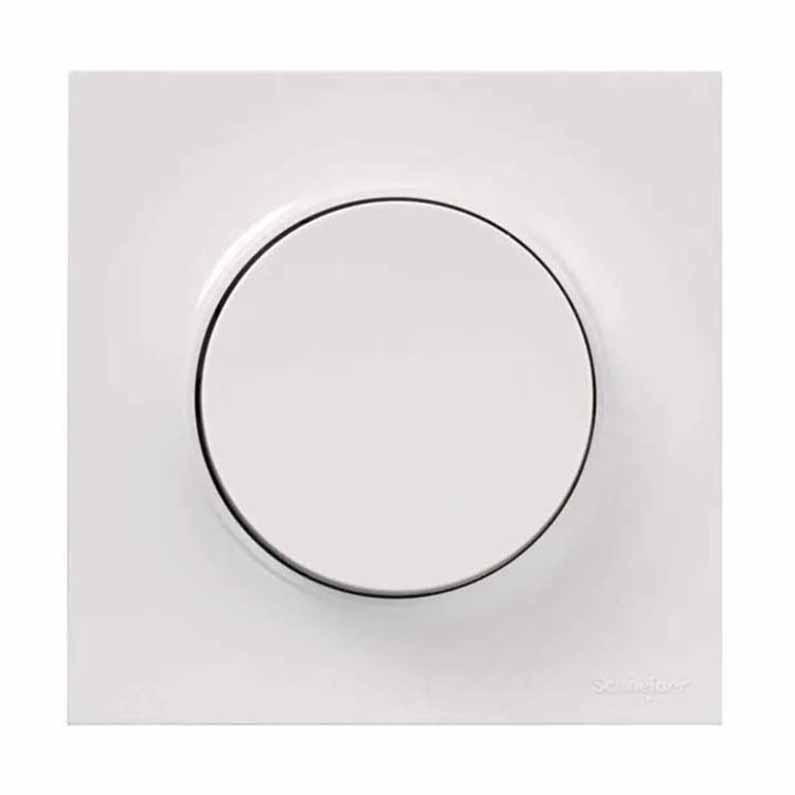 Accessoire pour luminaire interrupteur mural sans fil 1 bouton profil