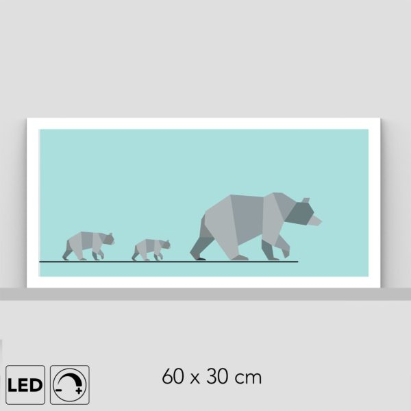Lampe ours polaire