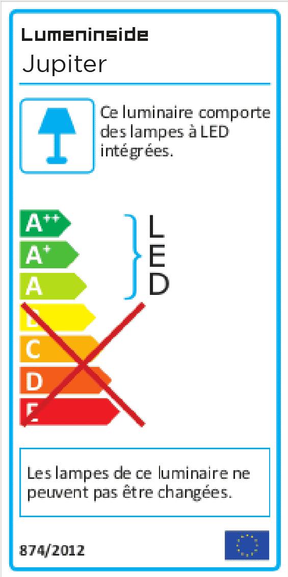 étiquette énergie JUPITER