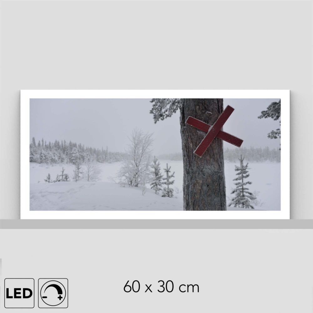 Lampe hiver route
