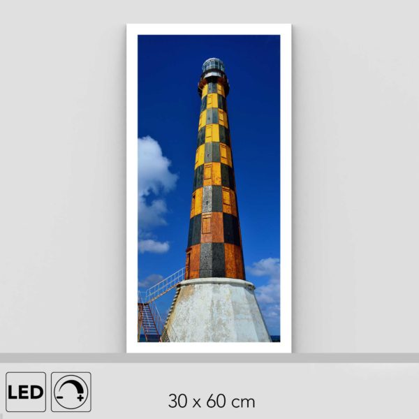 Lampe phare marin verticale