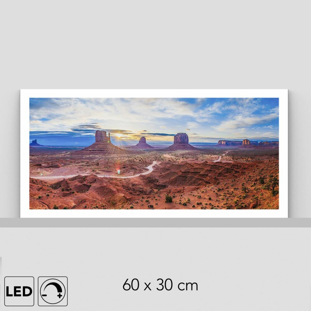 Lampe Monument valley