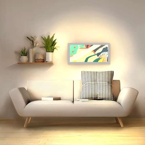 Applique murale moderne horizontale
