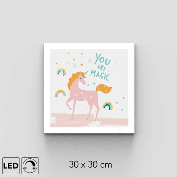 Applique murale licorne