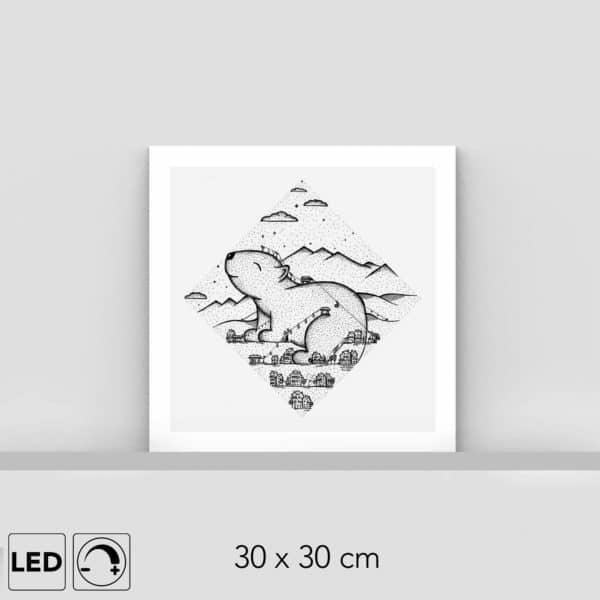 Lampe marmotte