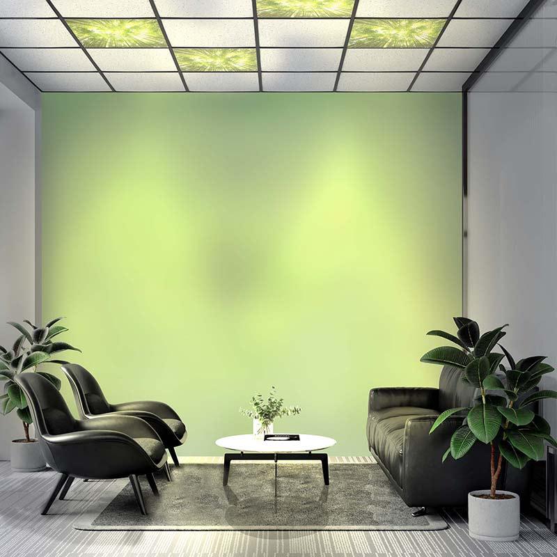 Dalle LED bureau espace pause