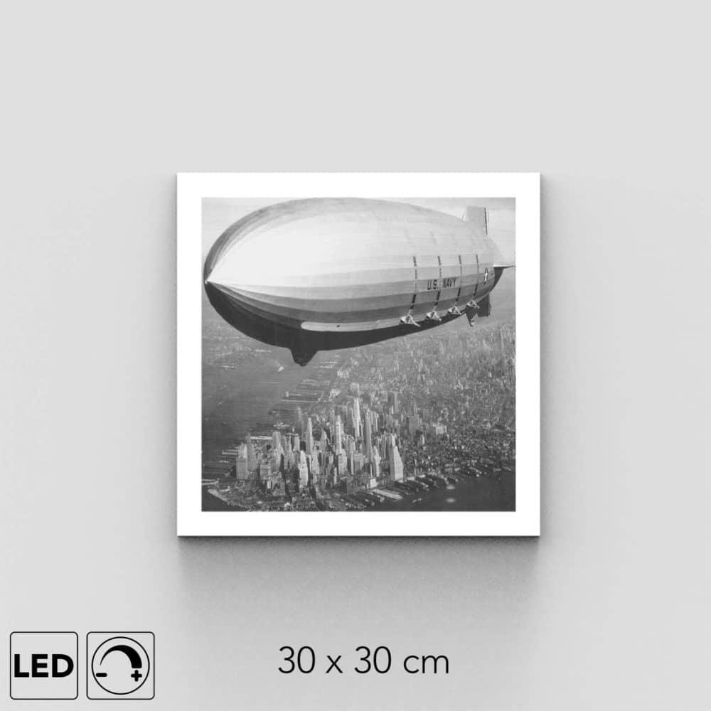 Plafonnier zeppelin présentation