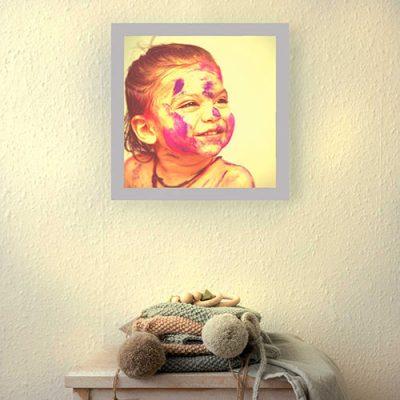 Idée cadeau enfant applique murale
